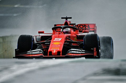 Duo Ferrari Tercepat di FP2 GP Brasil