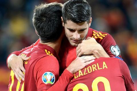 Spanyol Libas Malta Tujuh Gol Tanpa Balas