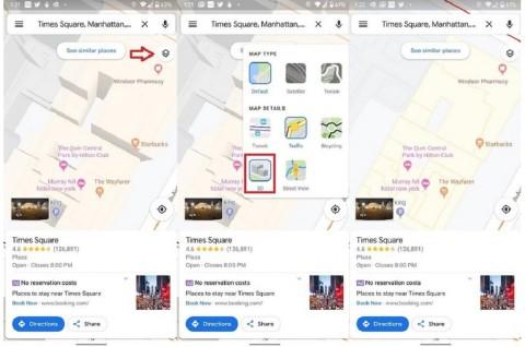 Google Maps Mulai Tampilkan Gedung Secara Datar