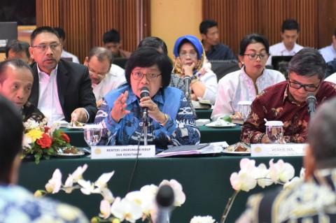 Kepala Daerah 'Curhat' ke Menteri LHK