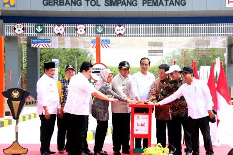 Tol Terpanjang di Indonesia Resmi Beroperasi
