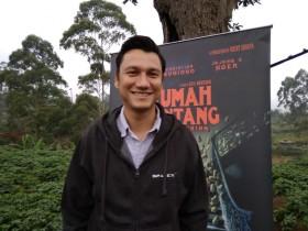 Christian Sugiono Belajar Pakai Mesin Tik demi Rumah Kentang