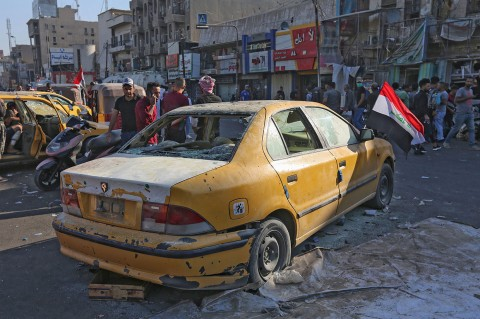 Serangan Bom di Baghdad Tewaskan Empat Orang