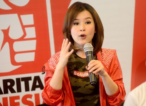 Grace Natalie Ungkap Hoaks Perselingkuhan di SMW Jakarta 2019