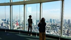 Menikmati Tokyo dari Tokyo Sky View