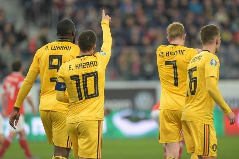 Belgia Bungkam Rusia 4-1