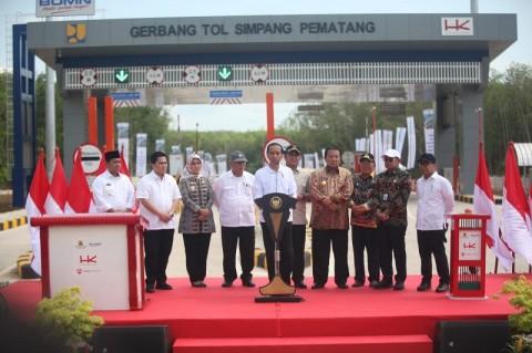 Menhub: Jarak Tempuh Jakarta-Palembang 7 Jam