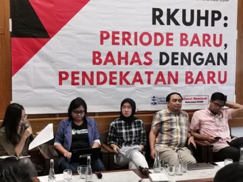 Presiden Diminta Bentuk Komite Ahli Pembaruan KUHP