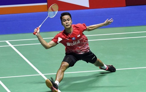 Anthony Ginting Menyerah dari Tuan Rumah di Final Hong Kong Open