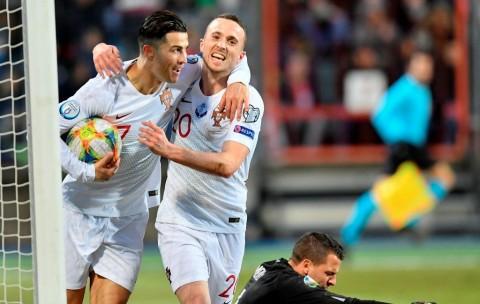 Tumbangkan Luksemburg, Portugal Lolos ke Piala Eropa 2020