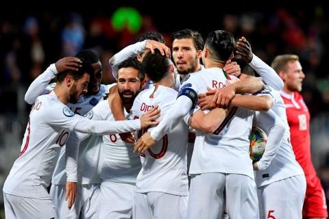Hasil Kualifikasi Piala Eropa Semalam