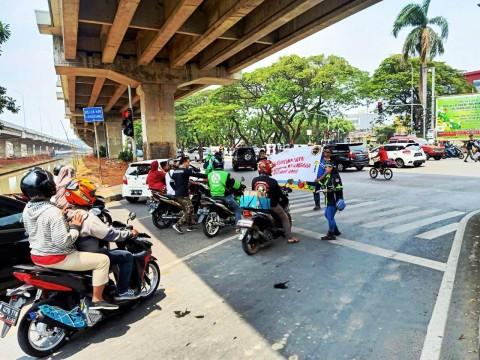Peringati WDOR, Masyarakat Kampanye Keselamatan Berkendara di Jalan