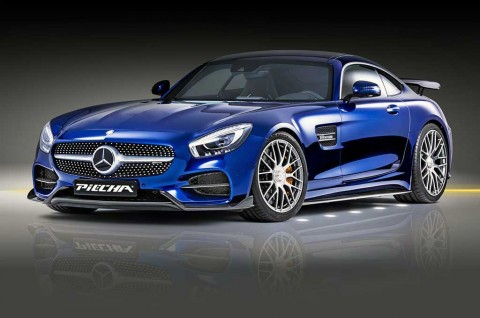 Mercedes-AMG GT-S Usai Disuntik Komponen Racing jadi 603 DK