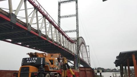 Jembatan Musi VI Ditargetkan Beroperasi Oktober 2020