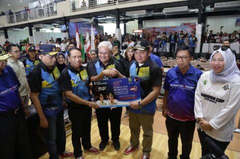 Menpora Buka Kejuaraan Dunia Boling di Sumsel