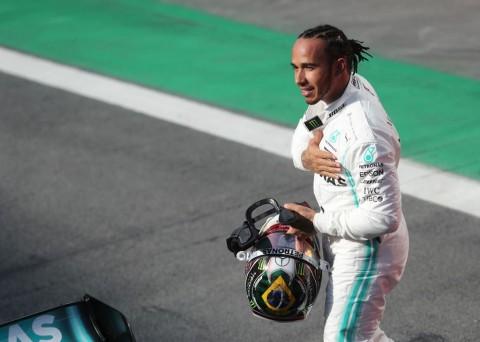 Lewis Hamilton Kehilangan Podium GP Brasil