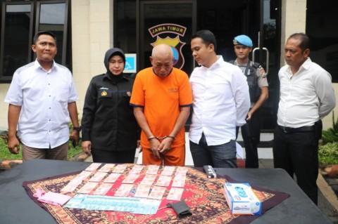 Residivis Pengedar Uang Palsu Ditangkap