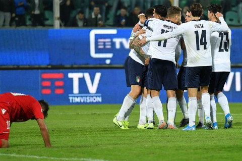 Timnas Italia Catat Rekor 11 Kemenangan Beruntun