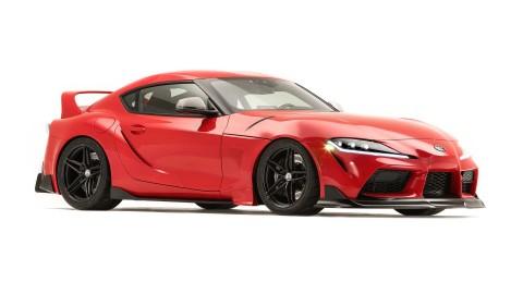 Memberikan Aura Klasik di Toyota Supra GR