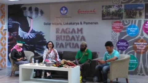 Ragam Budaya Papua Diperkenalkan di Mal