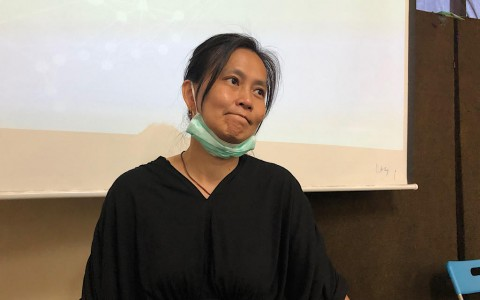 Istri Bantah Surya Anta Mengibarkan Bendera Bintang Kejora