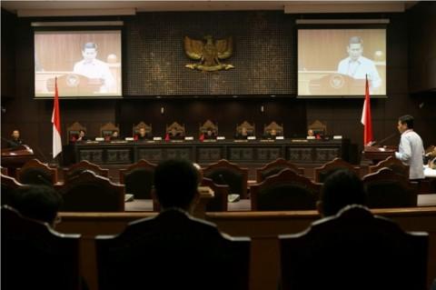 MK Minta Risalah Sidang UU KPK