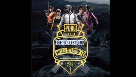 MetroFest Cup 2019 Bawa Kompetisi PUBG Mobile Antar Stasiun TV Nasional
