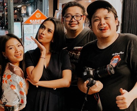 Semalam Masih Bertemu, Vanessa Angel Kaget Cecep Reza Meninggal