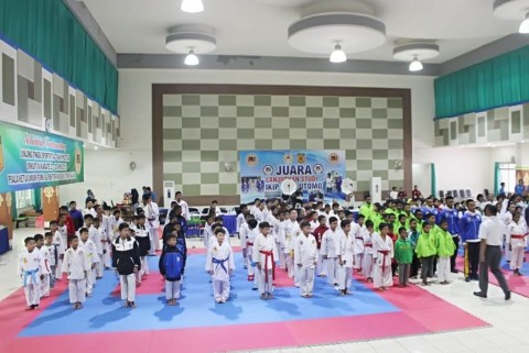 Kejurnas Karate di Malang Hadirkan Atlet Luar Negeri