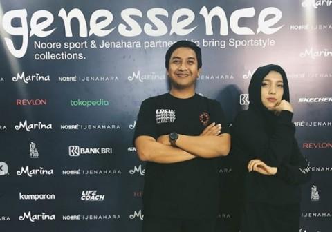 Cerita Jenahara Kolaborasi dengan Noore Bikin Hijab Sporty