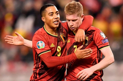 Belgia Pesta Gol ke Gawang Siprus