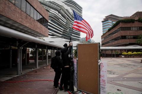 Senat AS Adopsi UU HAM dan Demokrasi Hong Kong