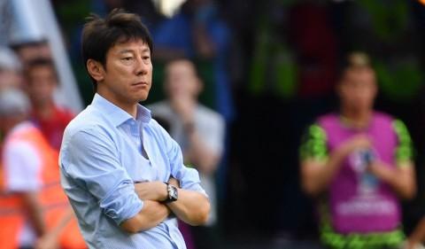 Pelatih Shin Tae-Yong Bertemu dengan PSSI di Malaysia