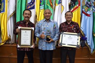 Sleman Kembali Raih Penghargaan Kabupaten Sehat