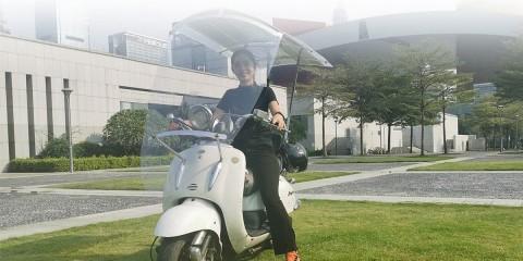 Motosola Tawarkan Panel Surya untuk Isi Baterai Motor
