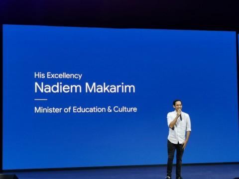 Pesan Mendikbud Nadiem Makarim untuk Google Indonesia