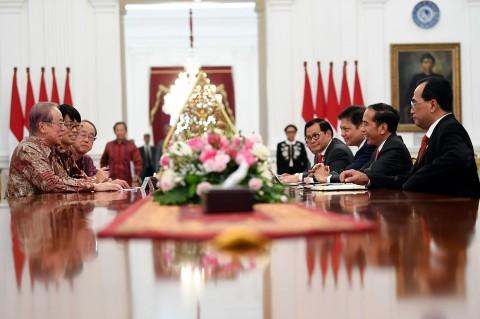 Jokowi Terima Delegasi Pengusaha Jepang