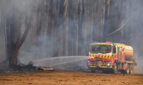 Suhu Memanas Akibat Kebakaran, Australia dalam Kode Merah