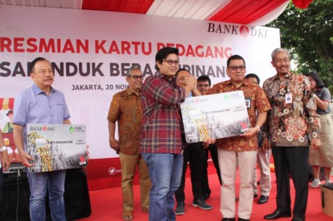 Bank DKI Tawarkan Kredit Mikro Ke Pedagang Pasar