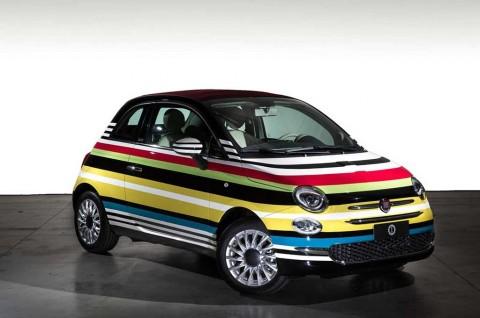 Modifikasi Unik Fiat 500 Terinspirasi Permen Lolipop dan Kama Sutra