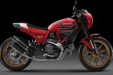 Modifikasi Ducati Bergaya Scrambler dan Chopper