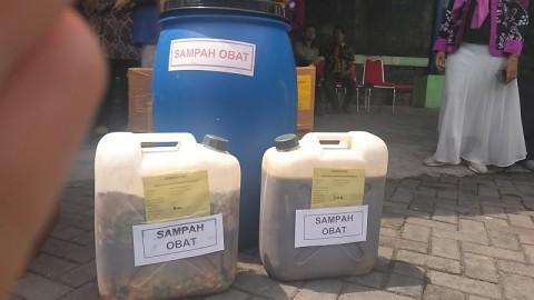 125,328 Kg Obat Kedaluwarsa Dimusnahkan di Yogyakarta