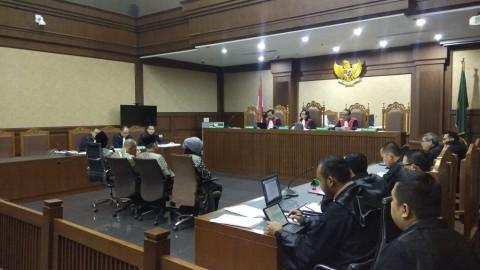 Eks Ketua DPRD Lamteng Klaim Duit Suap Hasil Pinjam