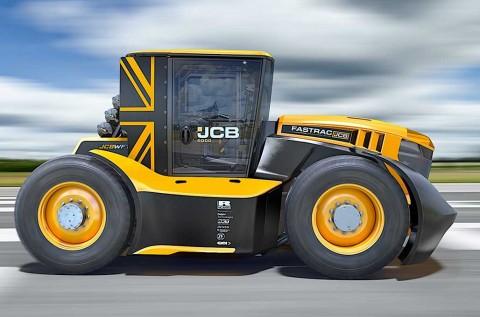 Traktor Ini Layak Ikut Balap Mobil Dunia?