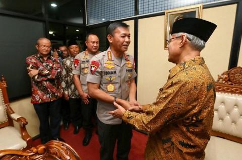 Kapolri Sowan ke Ketum PP Muhammadiyah