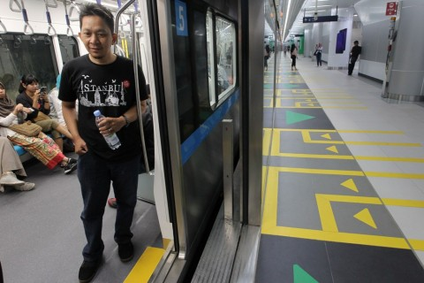 Dukuh Atas Jadi Kawasan MRT Paling Mahal