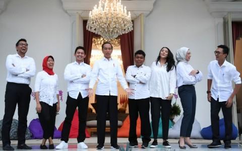 Moeldoko: Stafsus Milenial Jembatan Jokowi ke Publik