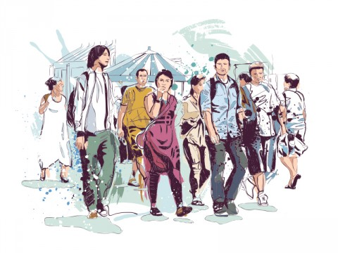 Warga Ibu Kota Didorong Lebih Andalkan Berjalan Kaki