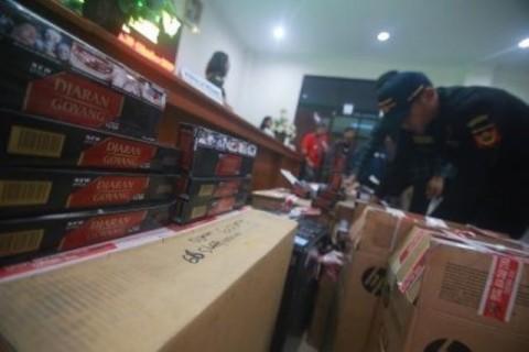 Pemprov Jateng Registrasi Seluruh Mesin Printing Rokok