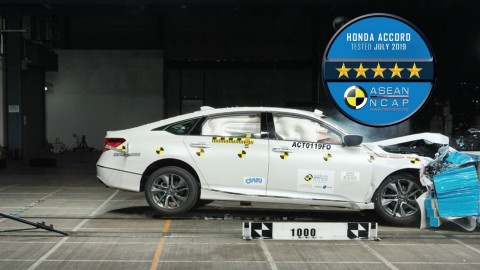 Uji Tabrak, ASEAN NCAP Anugrahi All New Honda Accord 5 Bintang